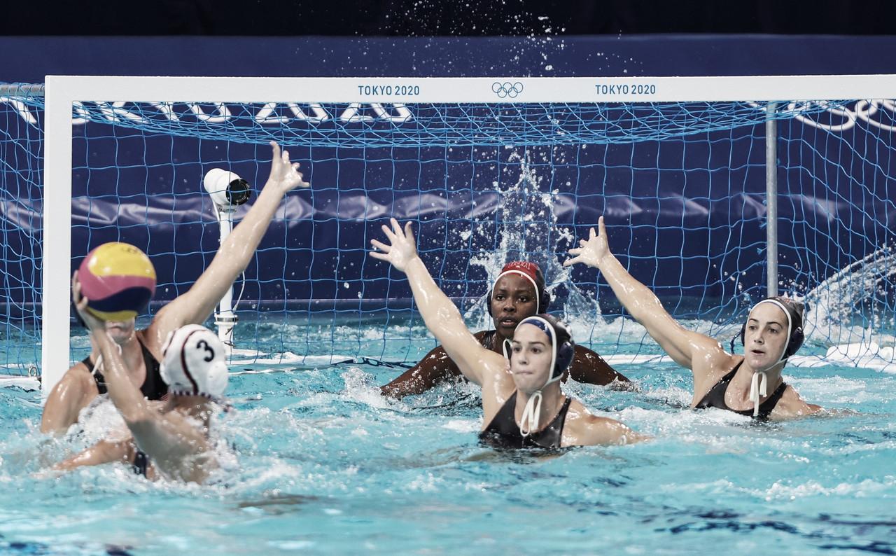 Resumen España 5-14 Estados Unidos en la Final Olímpica de Waterpolo Femenino