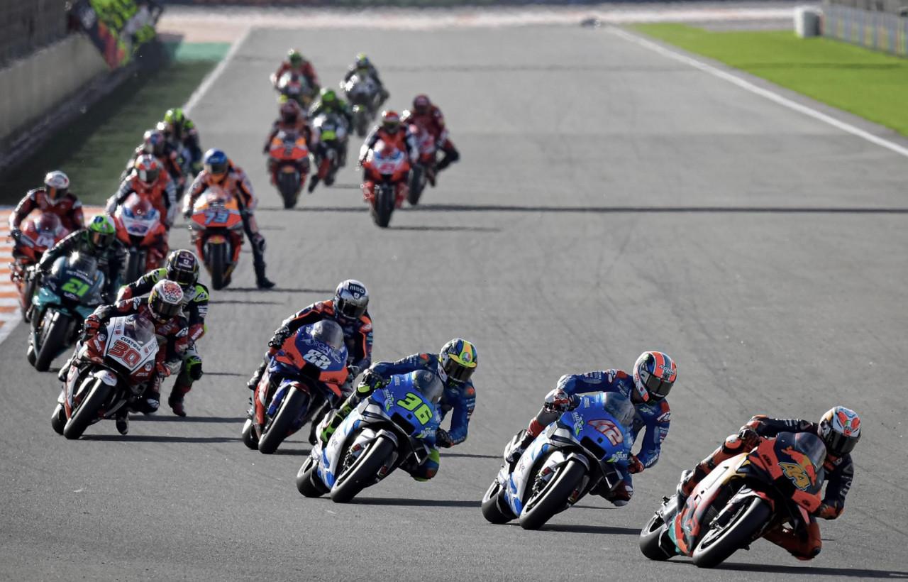 Carrera GP de Valencia de MotoGP minuto a minuto y en directo online