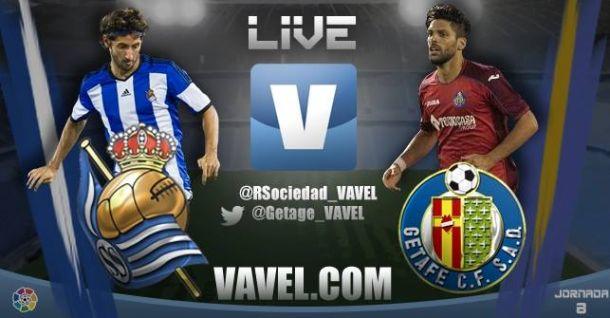 Real Sociedad vs Getafe en vivo y en directo online