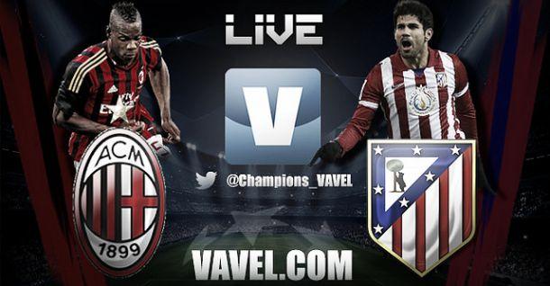 Resultado Milan - Atlético de Madrid (0-1)