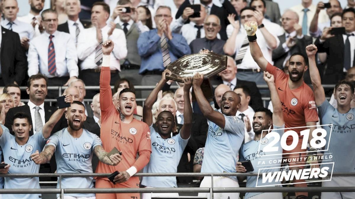 Agüero brilha, Manchester City vence Chelsea e conquista Supercopa da Inglaterra