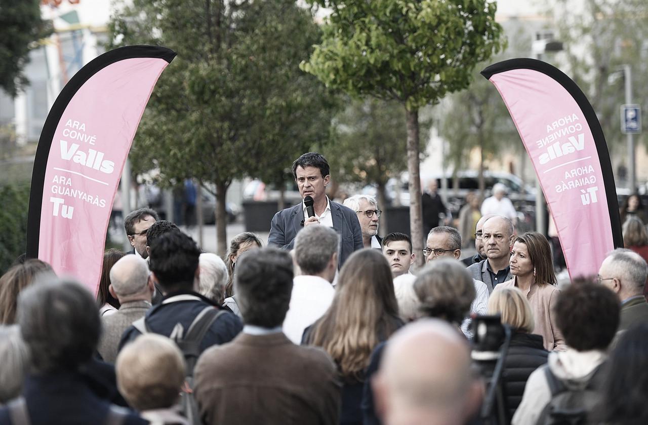 Ruptura de Valls con Ciudadanos