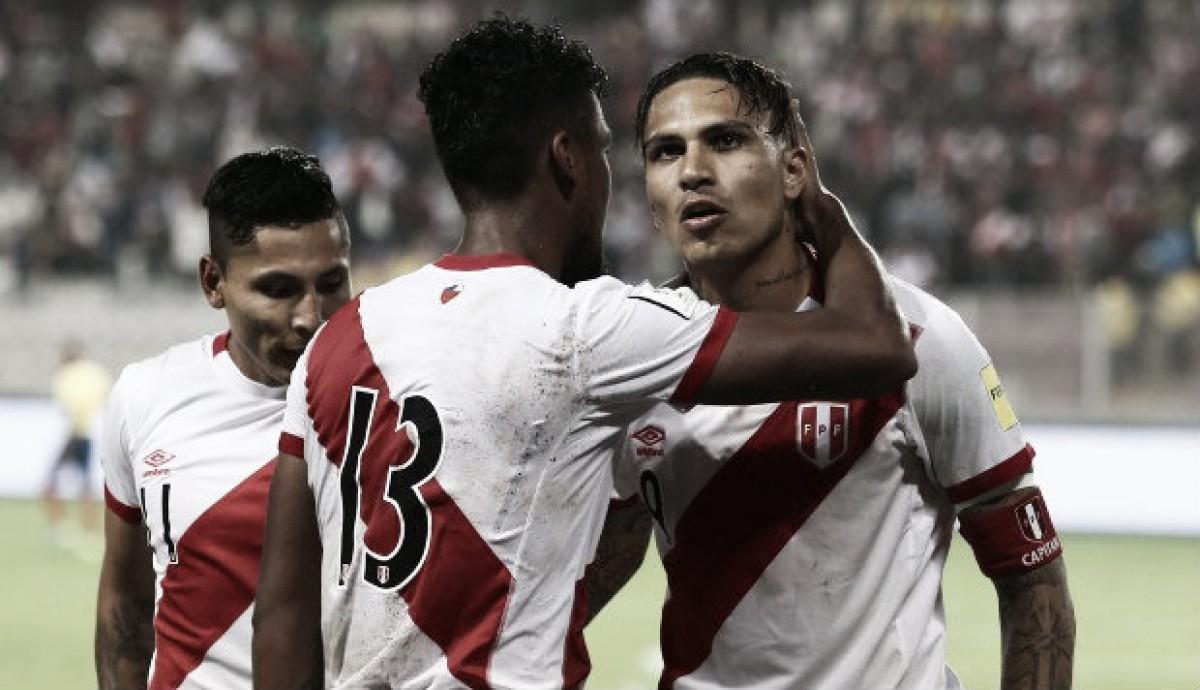 Perú 2018: Paolo Guerrero y Renato Tapia, la estrella y la joven promesa rojiblanca