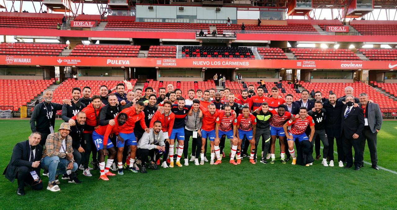 El Granada CF, siempre entre los diez primeros en la temporada más exigente