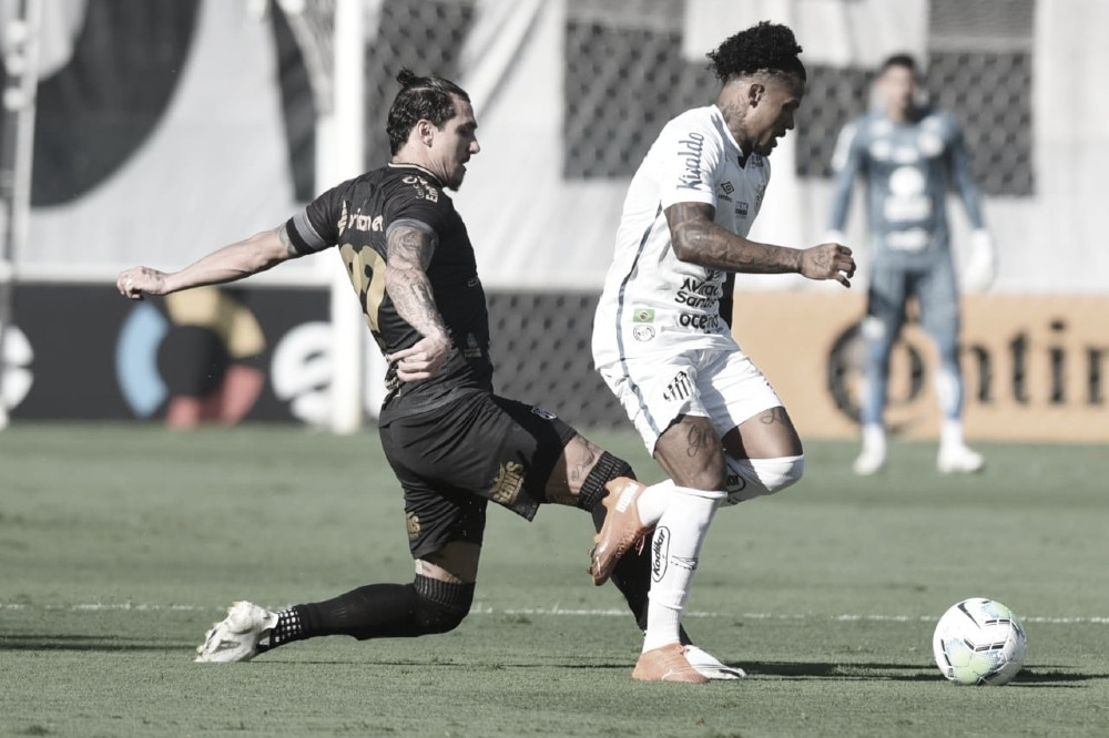 Vina e Marinho são os grandes destaques de Ceará e Santos. (Foto: Ivan Storti/Santos FC)