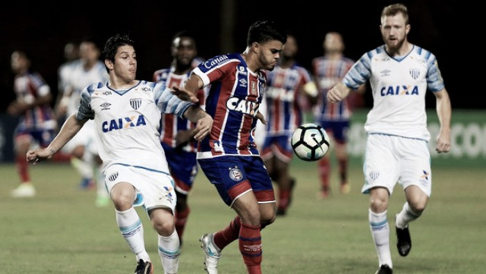 Buscando um lugar na pré-Libertadores, Bahia encara o Avaí em Florianópolis