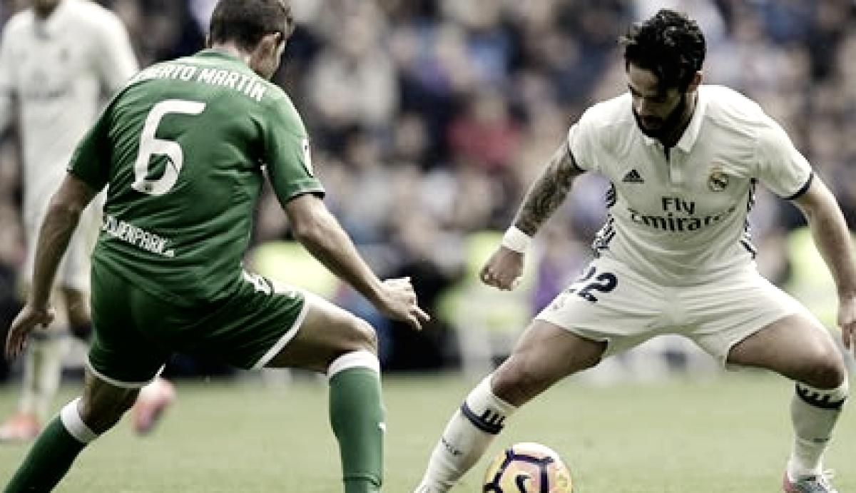 El Madrid nunca ha pisado Butarque en fin de semana