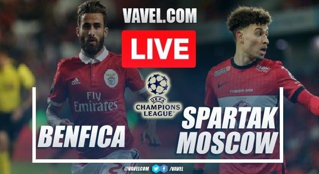 Gols e melhores momentos de Benfica 2x0 Spartak Moscou pela Uefa Champions League (Qualificação)