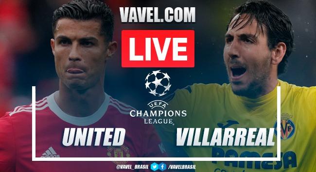 Resumen y mejores momentos del Manchester United 2-1 Villarreal en Champions League