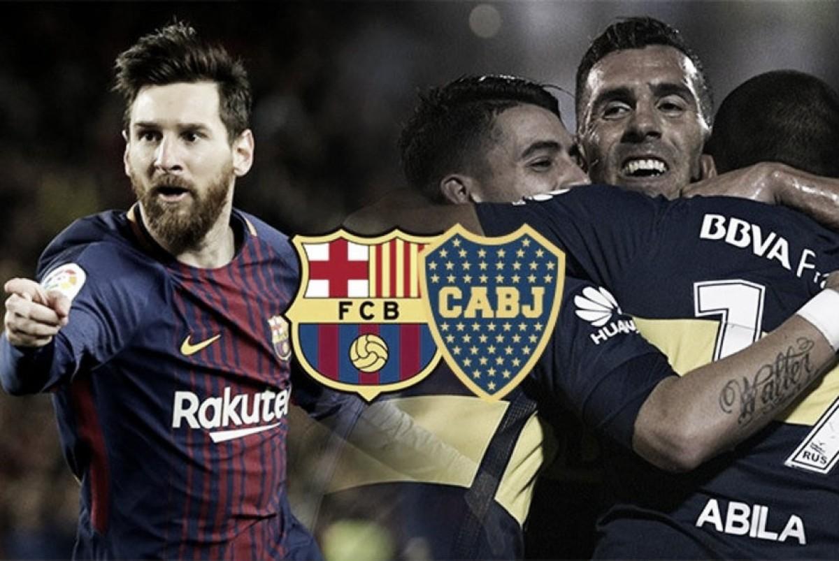 Barcelona-Boca: duelo de campeones
