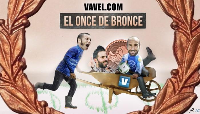 El Once de Bronce: Segunda División B, jornada V
