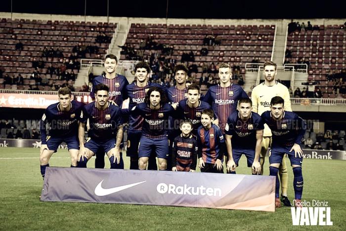 FC Barcelona B - Huesca: puntuaciones Barcelona B, jornada 14 Liga 123
