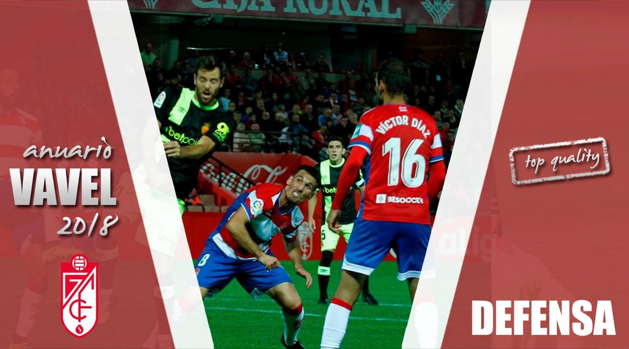 Anuario VAVEL Granada CF 2018: una defensa de luces y sombras
