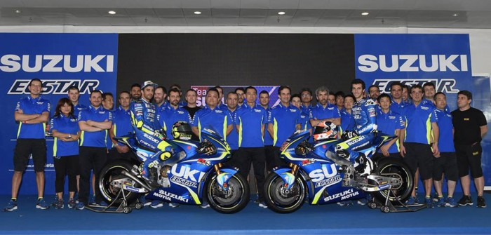 MotoGP- Presentata la nuova Suzuki GSX: le parole di Brivio e dei i due piloti