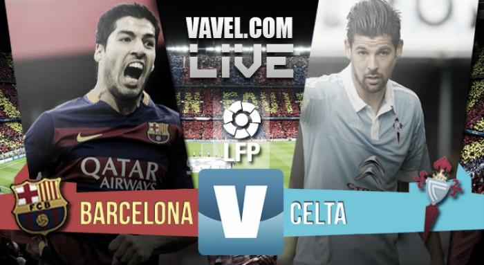 En vivo: Barcelona vs Celta de Vigo 2016 en Primera División online (1-1)