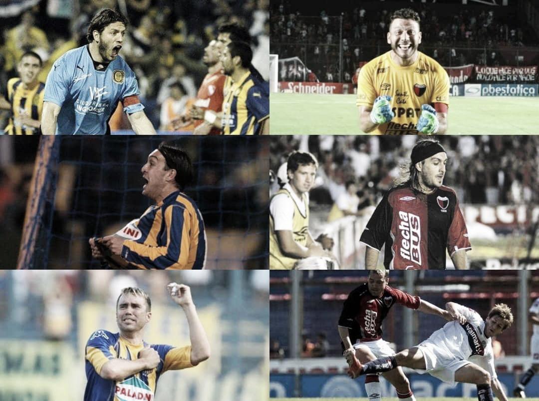 Jugadores que vistieron las camisetas de Rosario Central y Colon