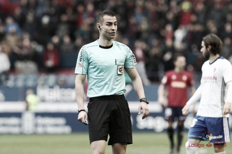 Analizando a Varón Aceitón, árbitro del Numancia – Real Oviedo