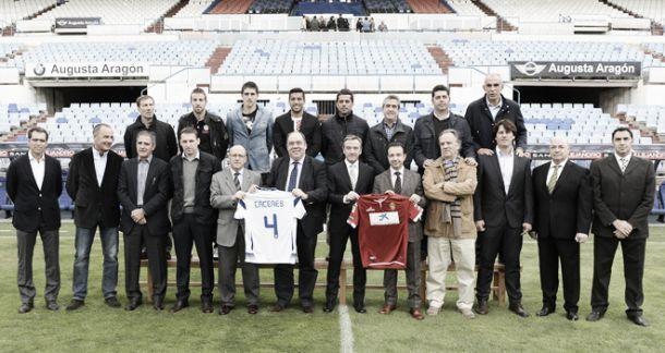 El Real Zaragoza presenta el partido homenaje a Cáceres