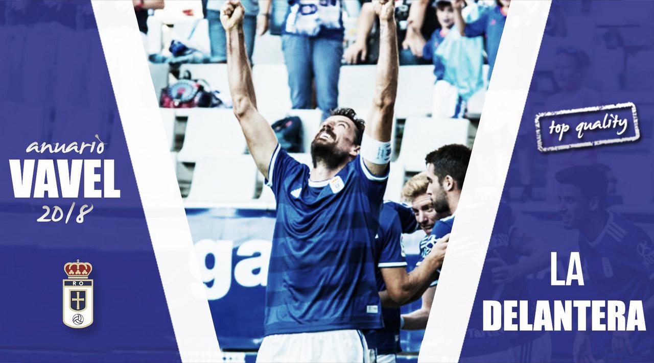 Anuario VAVEL Real Oviedo 2018: La delantera, la eterna incógnita
