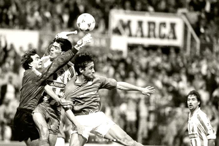 Un Derby de los que marcan: el Real Sporting 0-0 Real Oviedo de la 90/91