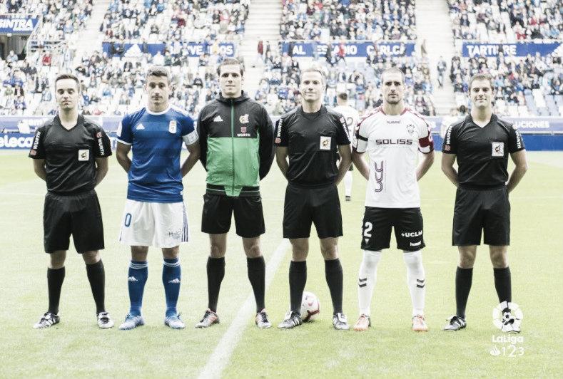 Analizando a De la Fuente Ramos, árbitro del Real Oviedo-Granada CF
