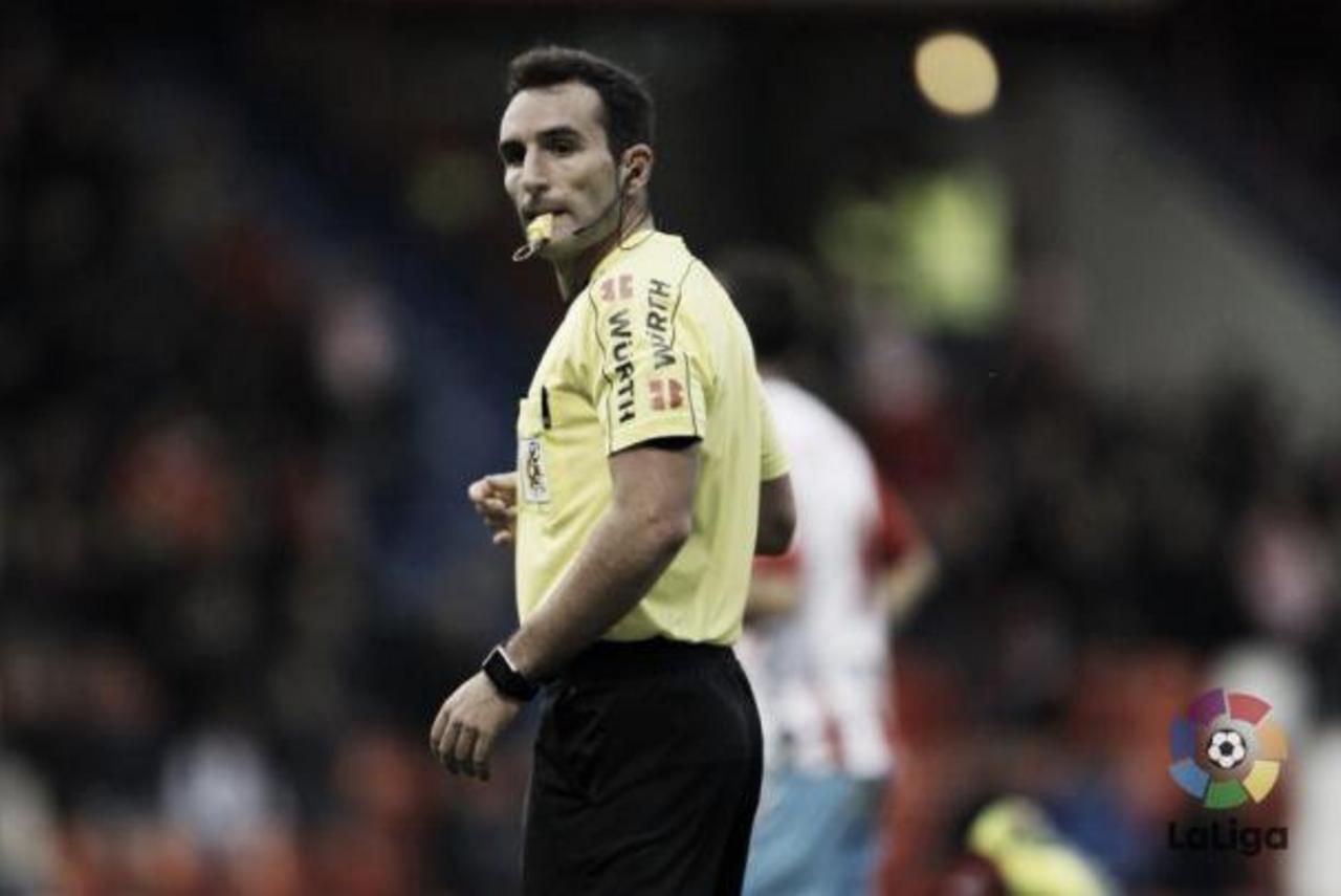 Arcediano Monescillo, árbitro del Real Oviedo - Málaga