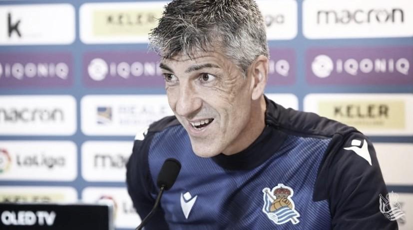 "Imanol Alguacil: ""Esto no va a afectar a la final de la Copa del Rey"""
