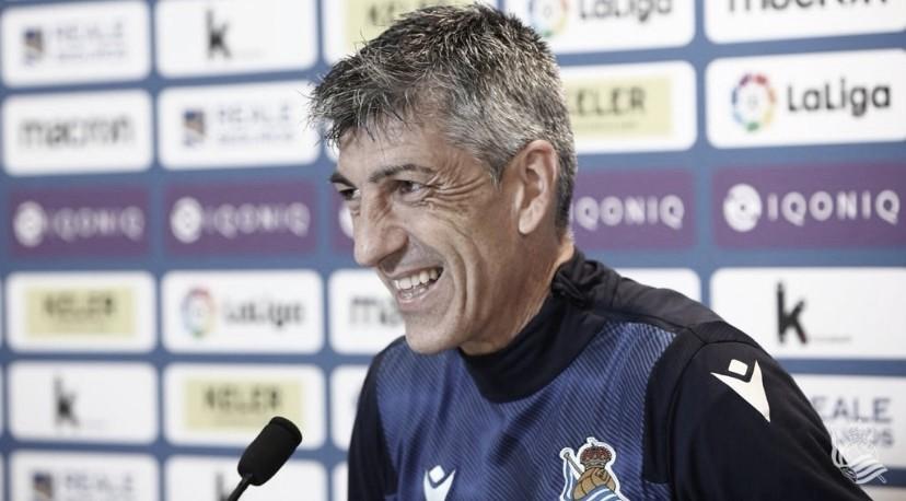 """Imanol Alguacil: """"El empate es justo, vamos a ir a muerte para volver a jugar en Europa"""""""