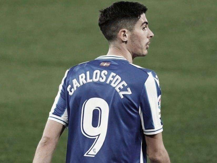 Carlos Fernández, debut en liga agridulce