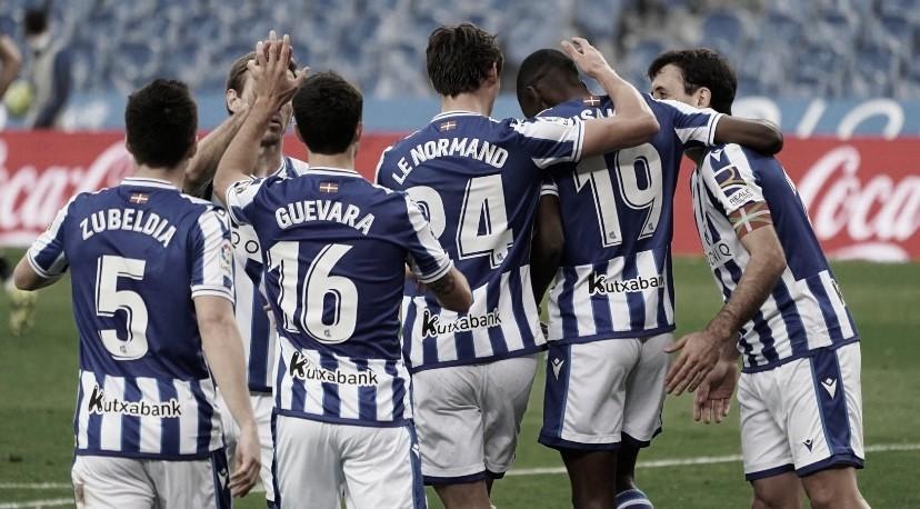 La Real Sociedad encara una nueva semana tras caer eliminados en la Europa League