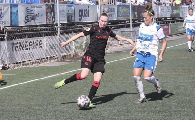 La Real logra tres puntos de oro en Tenerife (1-2)