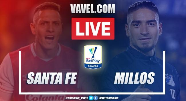 Resumen y Goles Santa Fe vs. Millonarios (1-1)