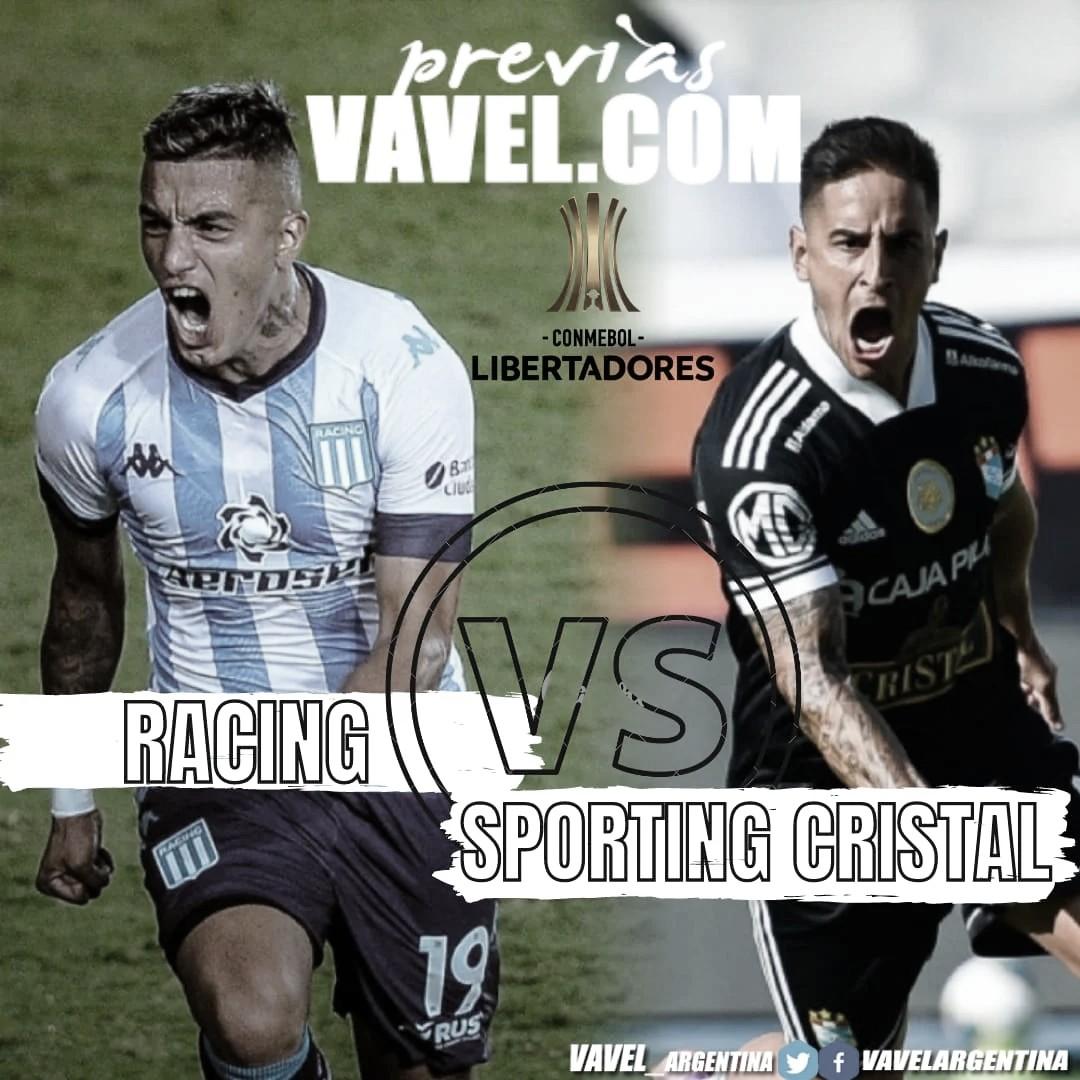 Así llega Racing para enfrentar a Sporting Cristal