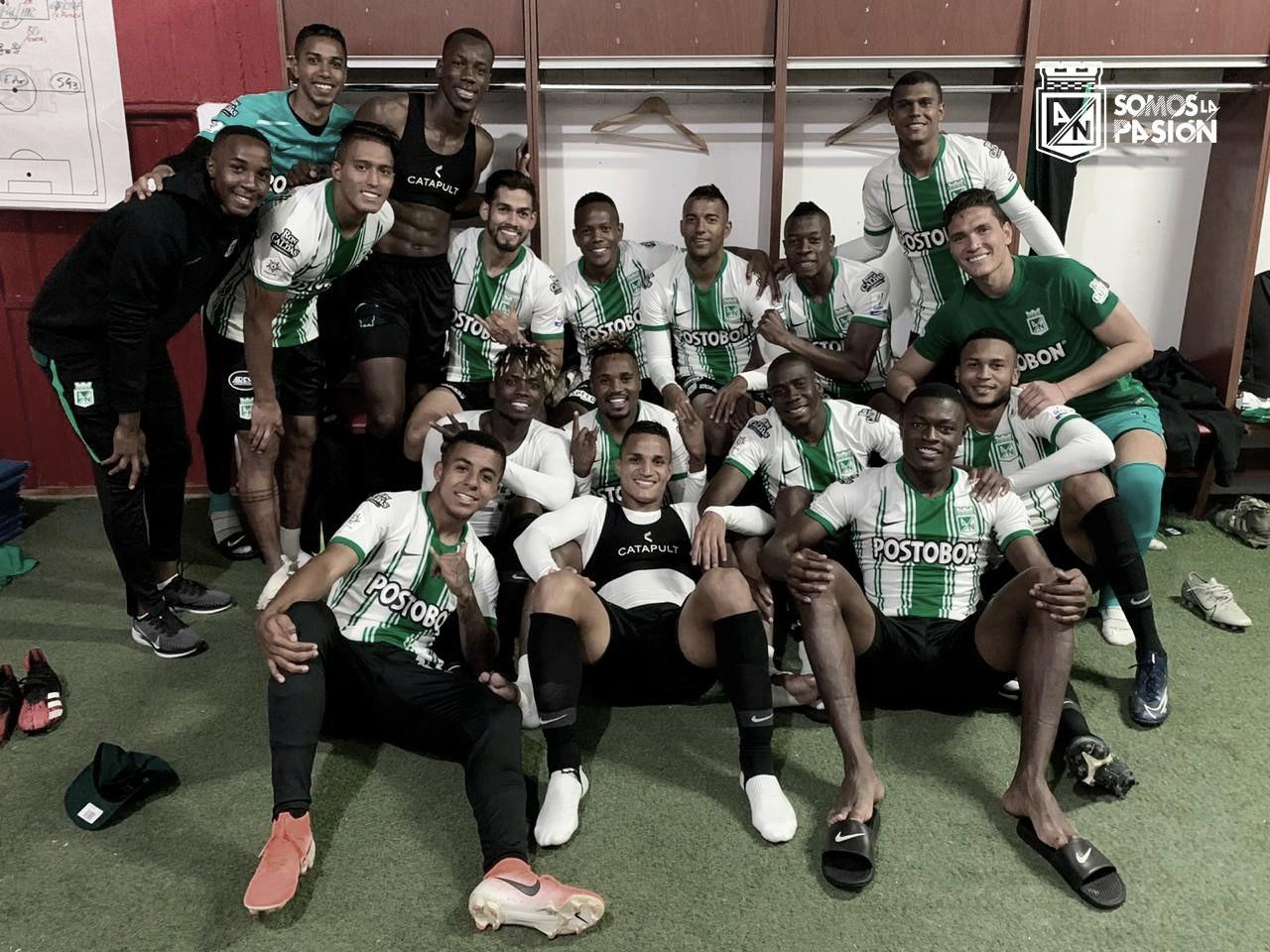 El arte de atacar: Atlético Nacional fue contundente y goleó a Boyacá Chicó
