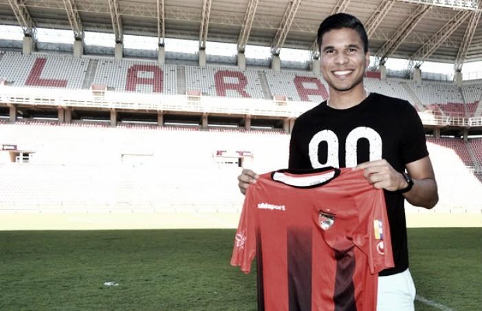Jesús Hernández regresó a su casa con el Deportivo Lara