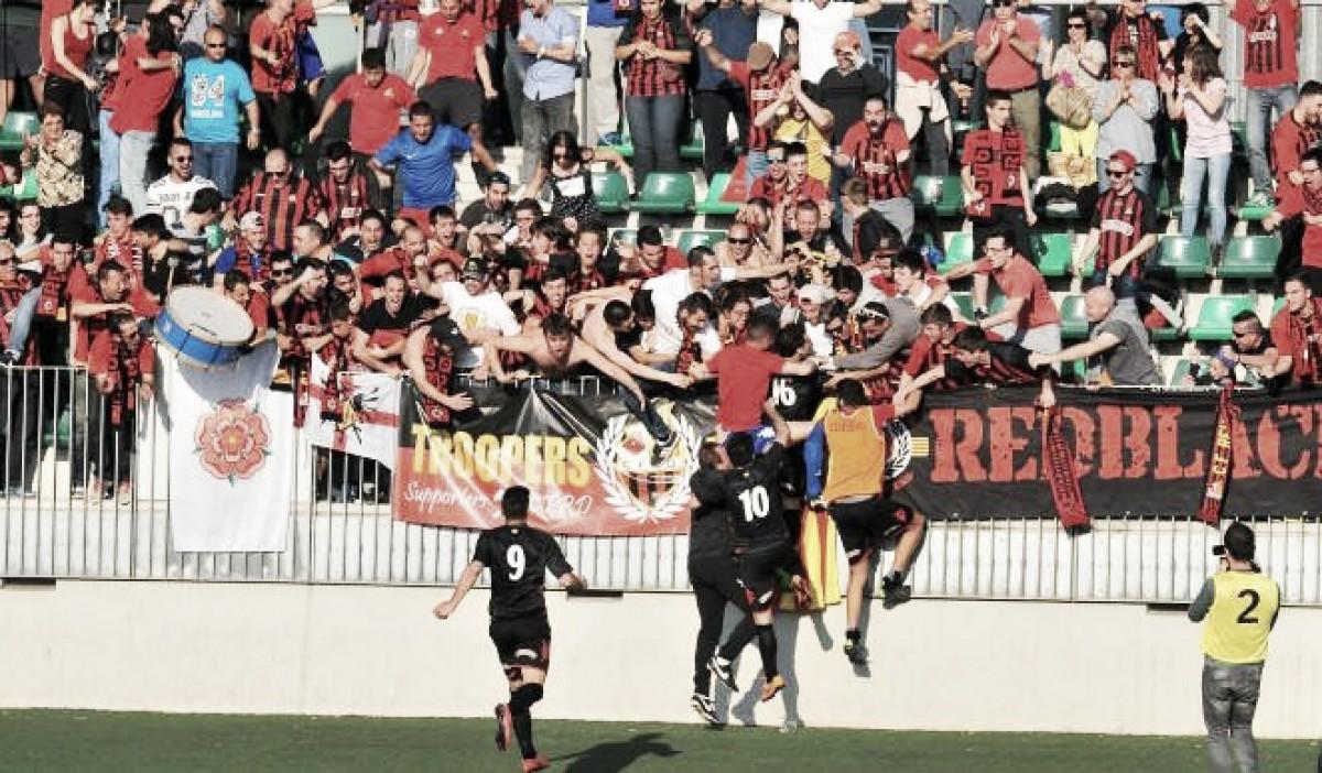 Dos años del título in extremis de Segunda División B del Reus Deportiu