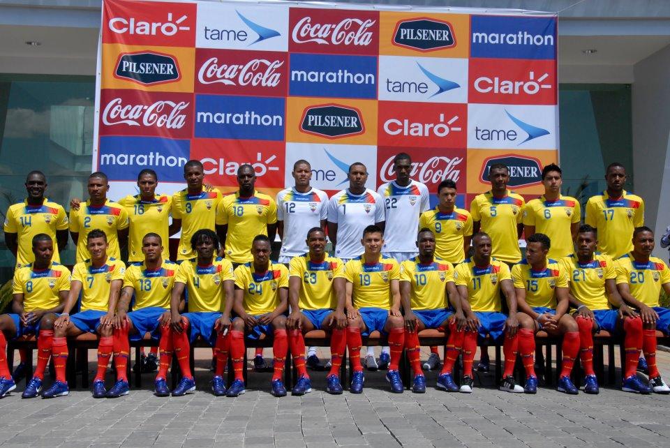 La selección ecuatoriana ya tiene foto oficial