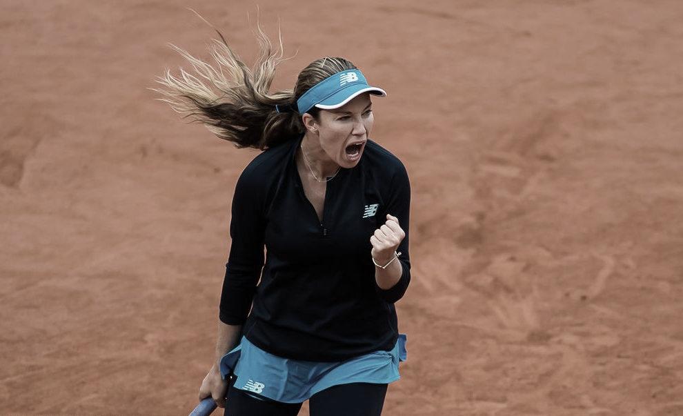Collins baja a tiempo de la montaña rusa y sella su presencia en cuartos de final de Roland Garros