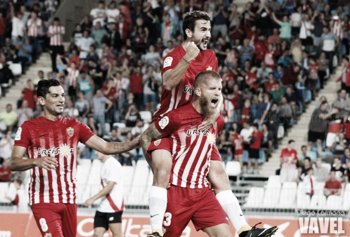 Fotos e imágenes del Almería 3-0 Sevilla Atlético, jornada 6 de Segunda División