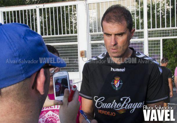 """Garitano: """"Para nosotros es importante la victoria"""""""