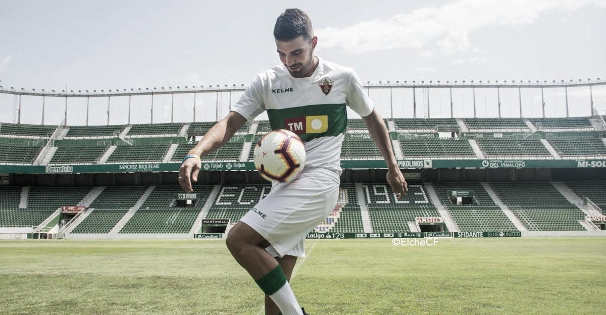 """Alexander González, nuevo jugador del Elche: """"Me siento en Primera"""""""