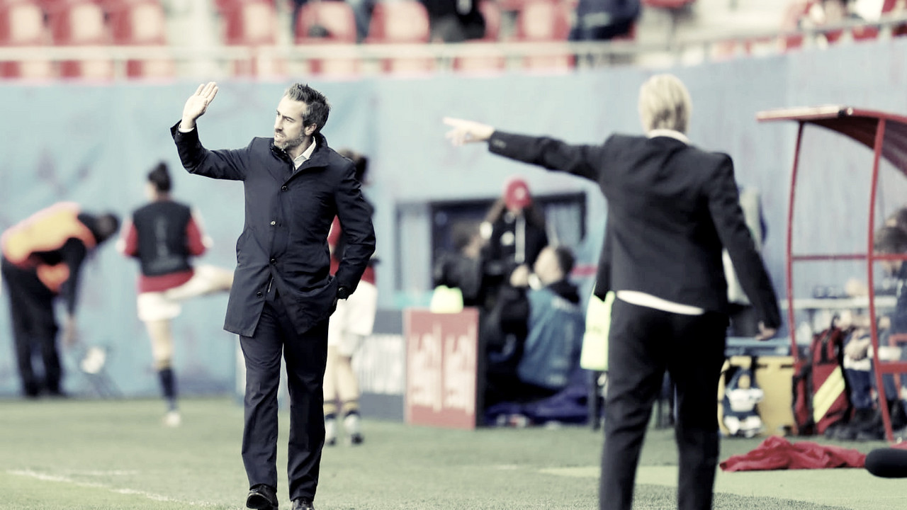 """Jorge Vilda: """"Estoy orgulloso de mis jugadoras"""""""