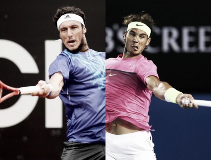 Juan Mónaco - Rafael Nadal en el ATP de Buenos Aires 2016