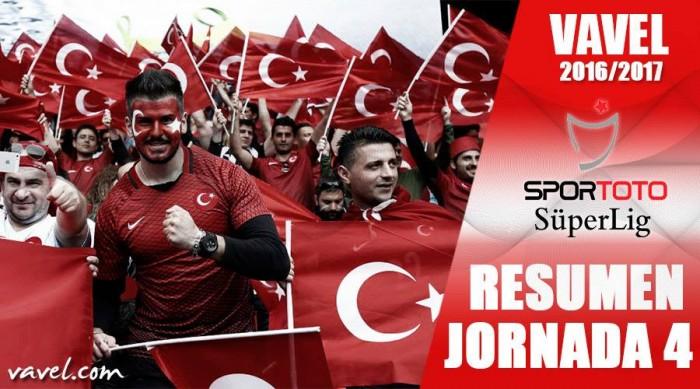Resumen de la jornada 4 de la Süper Lig