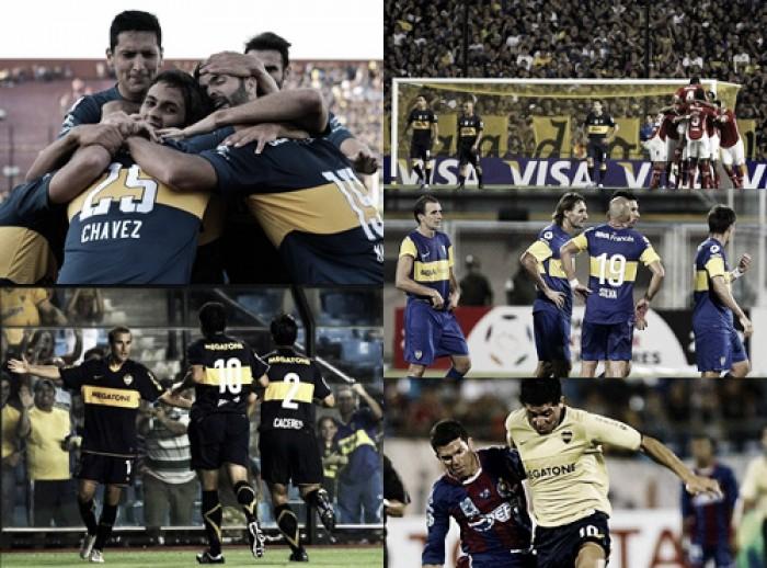 Los últimos cinco estrenos del Xeneize por Copa Libertadores