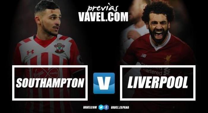 Previa Southampton- Liverpool: seguir en el mismo nivel