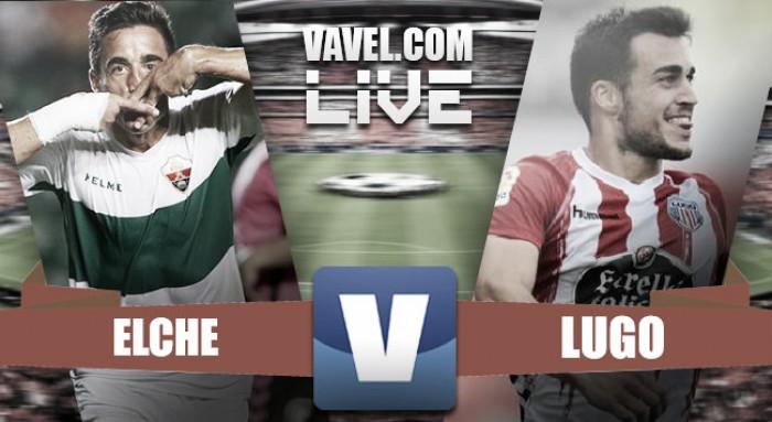 Resultado Elche CF vs CD Lugo en Segunda División 2016 (0-3)