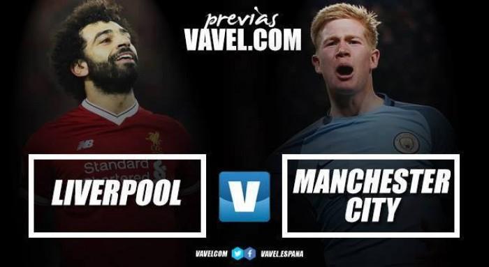 """Previa Liverpool-Manchester City: """"Reds"""" y """"Citizens"""" cara a cara"""