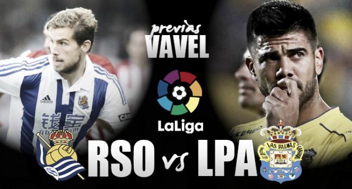 Previa Real Sociedad - Las Palmas: dar continuidad a la racha inmaculada ante un rival 'talismán'