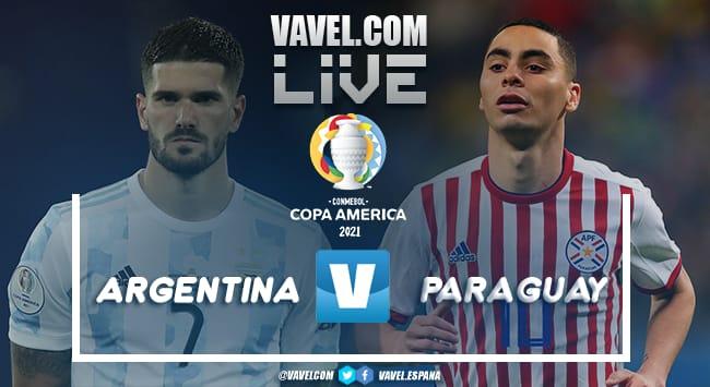Resumen del Argentina 1-0 Paraguay por la Copa América 2021